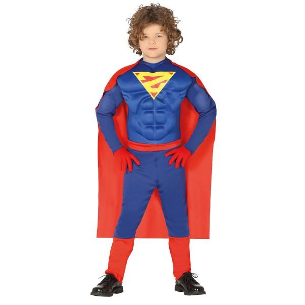 Superheld und Muskelprotz Kostüm für Kinder