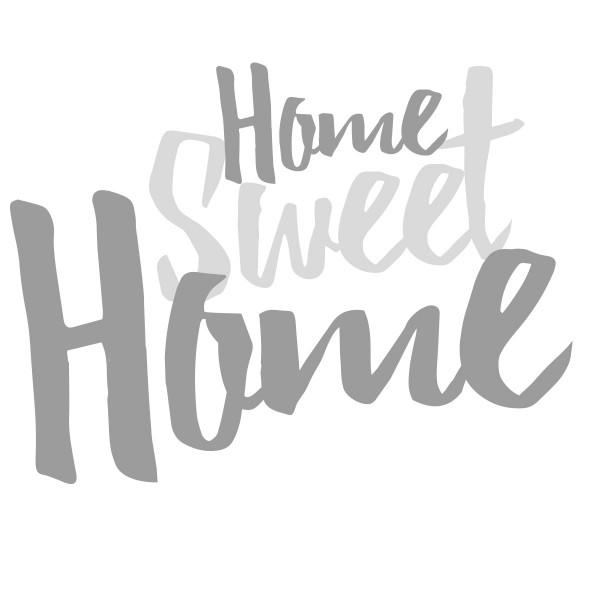Holzschrift 3D Home Sweet Home 20 cm