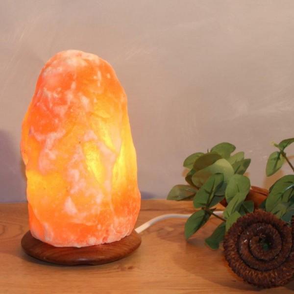 Himalaya Salzlampen aus Salzkristall inkl. Leuchtmittel in verschiedenen Formen