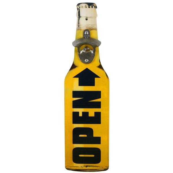 """Wandflaschenöffner """"Bierflasche"""" H 40 cm"""