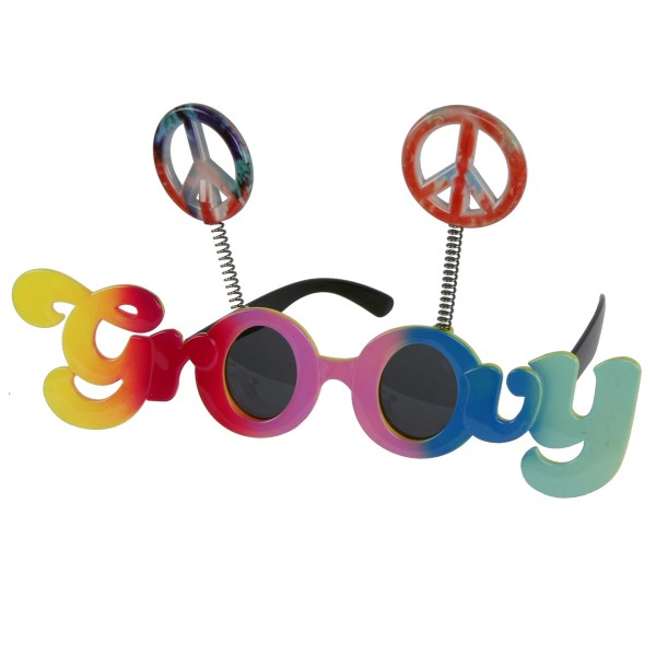 """Partybrille """"Groovy & Peace"""""""