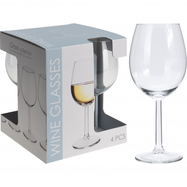4-tlg. Set Weingläser und Sektgläser