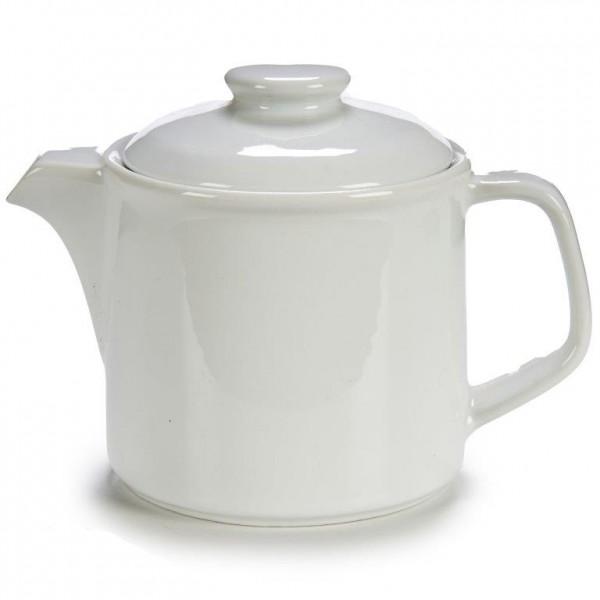 Kännchen aus weißem Porzellan, 400 ml
