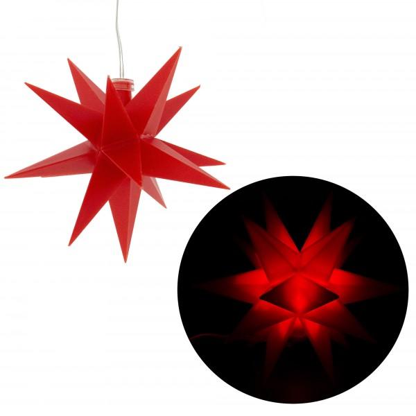 """LED Weihnachtsdeko """"Sputnik"""" Ø 12 cm mit Timer"""
