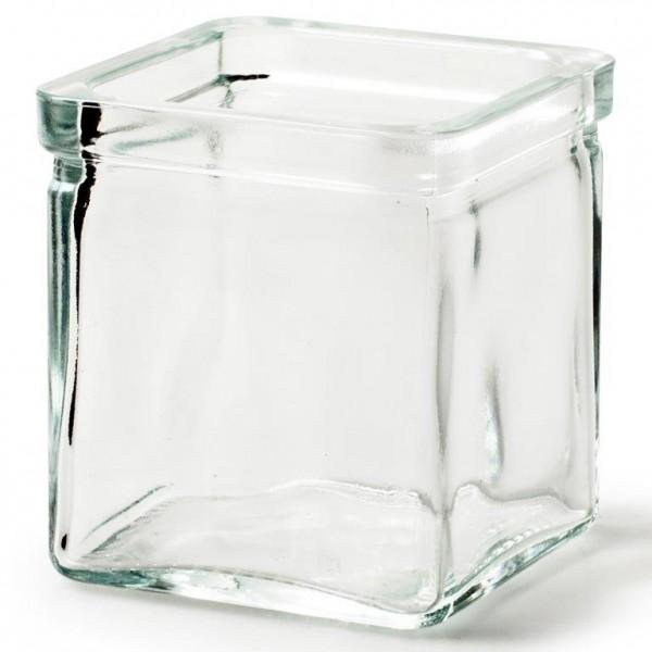 """6 x Glaswürfel """"Cubus"""" in verschiedenen Größen"""
