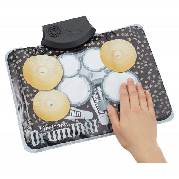 Schlagzeug - Matte elektrisch 7 Pads 33 x 28cm