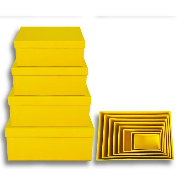 Geschenkkarton 8-tlg. Set, gelb