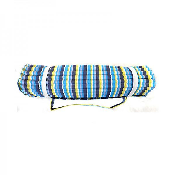 Strandmatte, Polyester mit Foam, blau