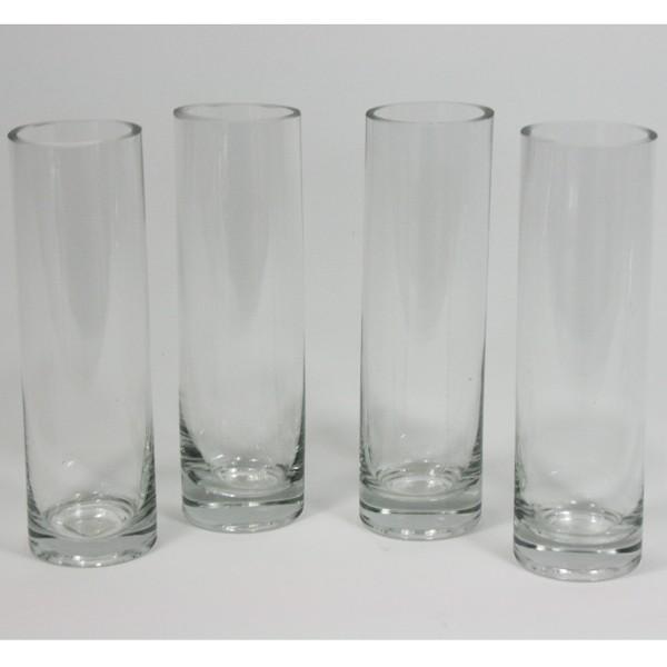 Solifleur-Vase, 4 Stück H 20 cm