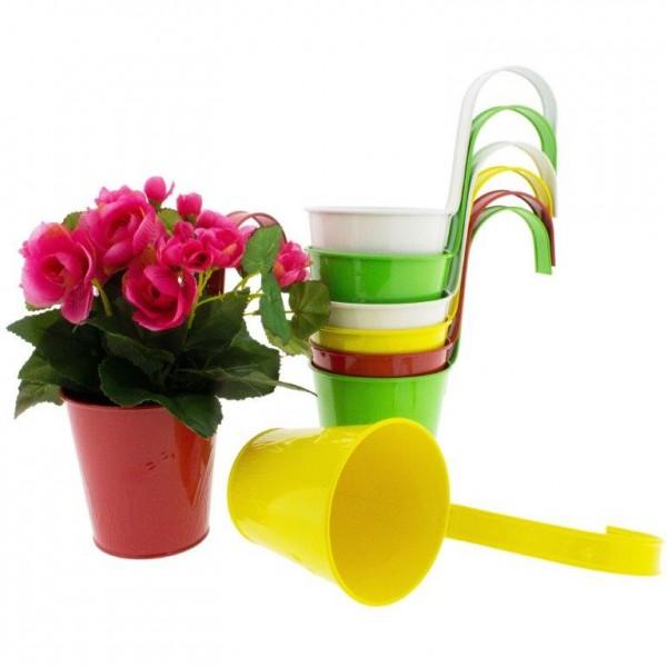 Blumentöpfe zum Hängen für Balkon und Gartenzaun Ø 11 cm