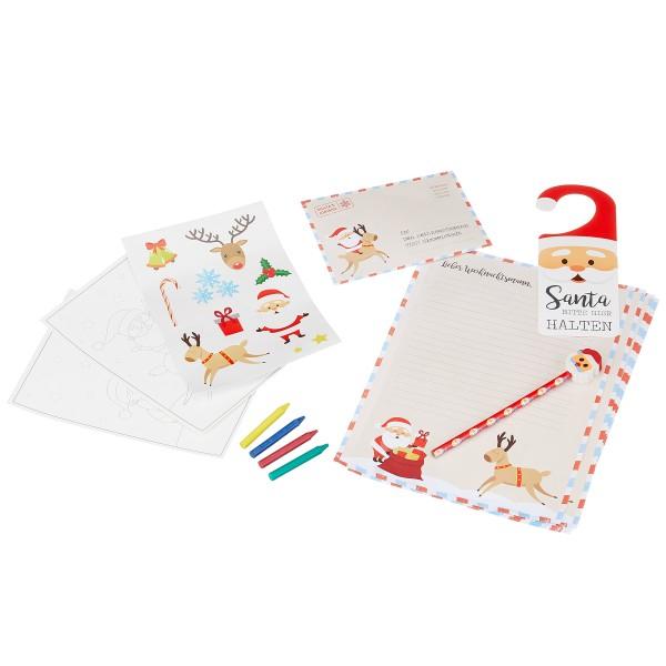 """9-tlg. Briefset Weihnachten """"Lieber Weihnachtsmann"""""""