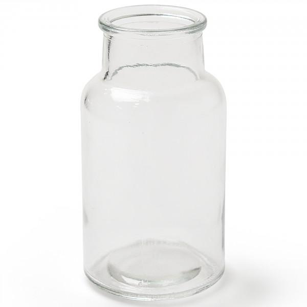Glasflaschen EMMA, Vasen in verschiedenen Größen H 14 / 16,5 / 20 cm