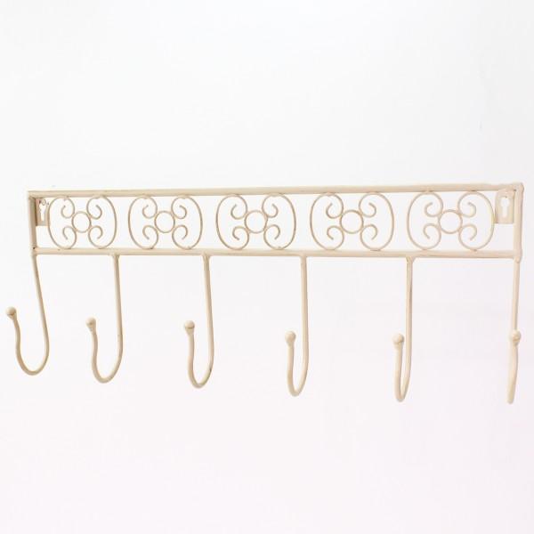 Wandgarderobe aus Eisen L 45 cm
