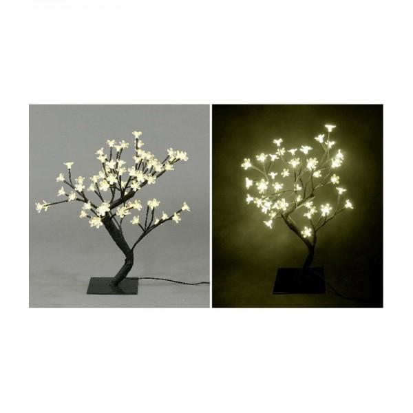 LED Baum mit 48 Lampen, H 45 cm, warmweiß