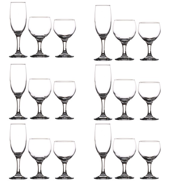 Gläserservice PARIS 18-tlg. Set