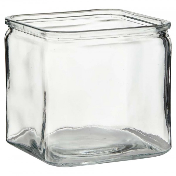 "12 x Teelichtwürfel ""Ecki"" Höhe 7,5 cm"