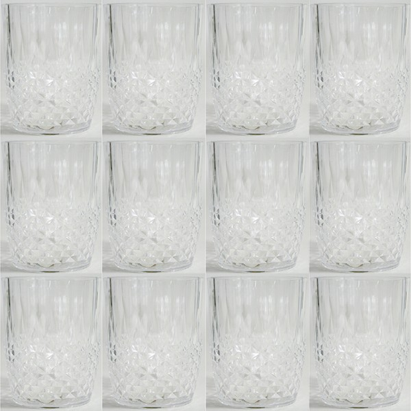 Trinkgläser aus Kunststoff, 12-tlg. Set