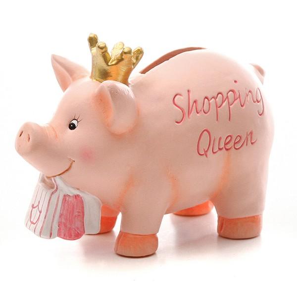 """Sparschwein """"Shopping Queen"""""""
