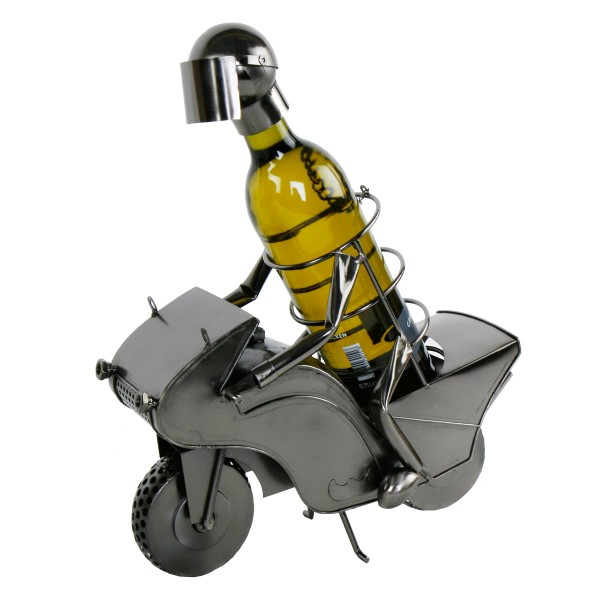 """Flaschenhalter """"Biker"""" Metall"""