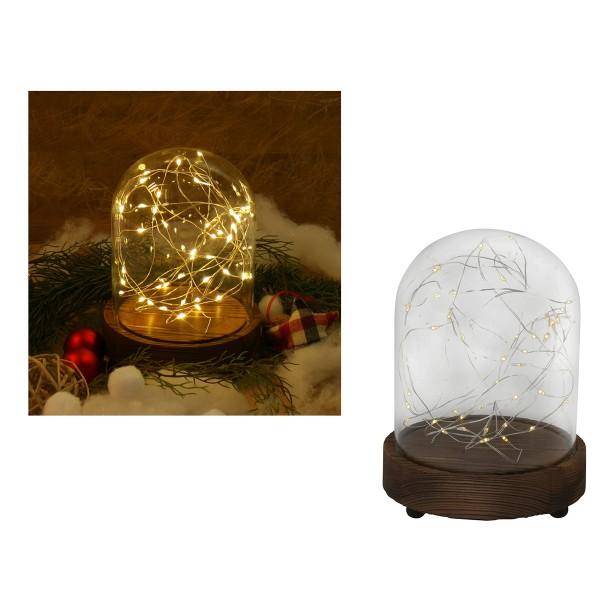 """LED-Stimmungsbeleuchtung """"Lichtkuppel"""" H 15 cm"""
