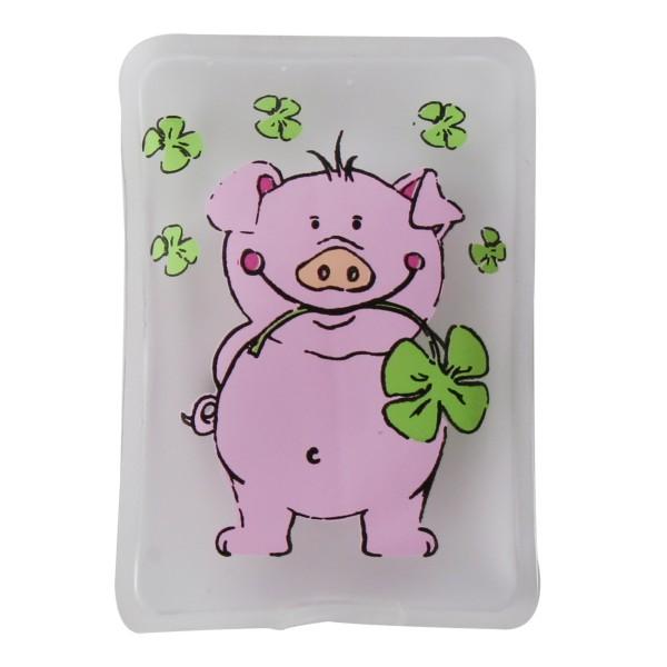 4 x Taschenwärmer Glücksschwein