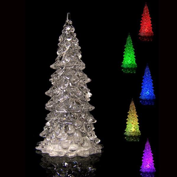 LED-Weihnachtsbaum, Farbwechsler H 18 cm