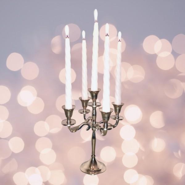 Kerzenständer 5-armig aus Aluminium