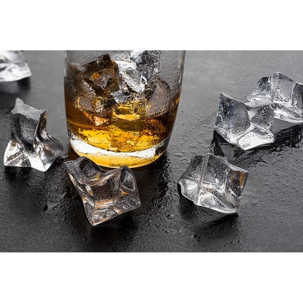 Eiswürfel aus Acryl zur Dekoration, 38 mm, 600 ml