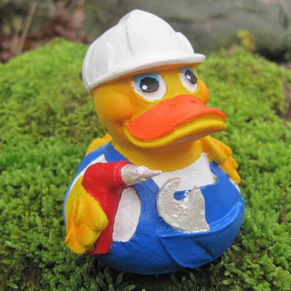 Badeente Heimwerker Duck aus Kautschuk