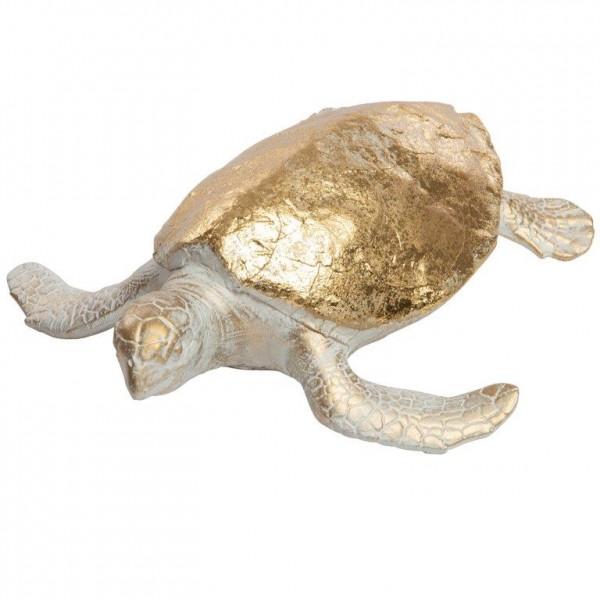 Schildkröte aus Polyresin 28 x 25 cm
