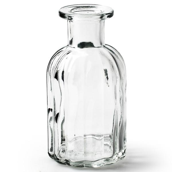 12 x kleine Vasen aus Glas Vintage in zauberhaften Designs