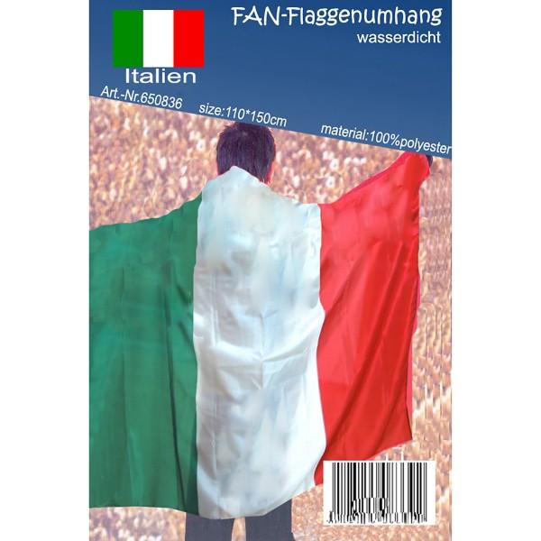 """FAN Flaggenumhang """"Italien"""" 110 x 150 cm"""