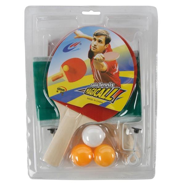 """8-tlg. Set """"Tischtennis"""" für den sofortigen Spielspaß"""