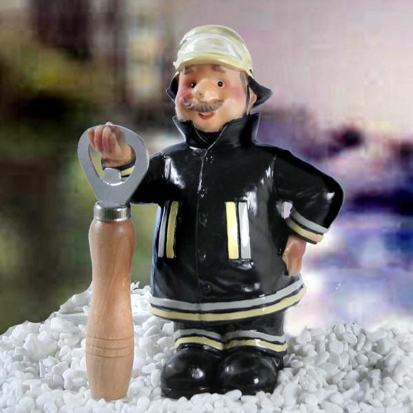 """Flaschenöffner """"Feuerwehrmann"""" H 17 cm"""