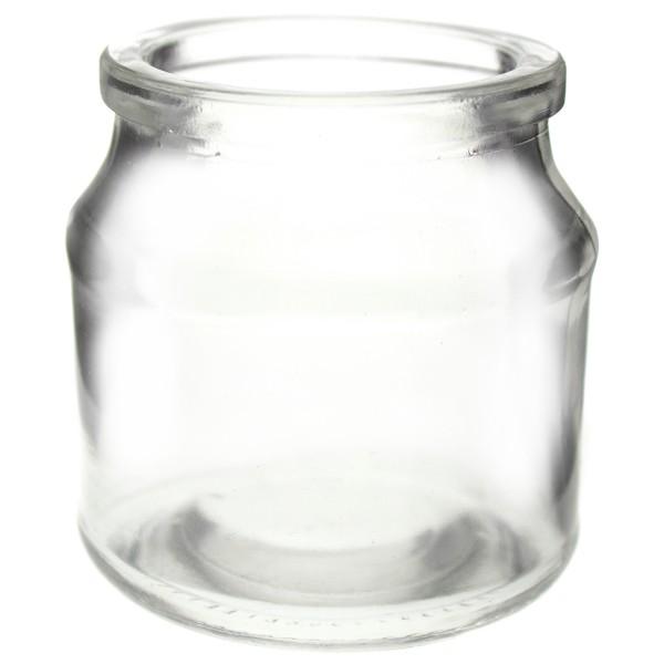 12 Stück Teelichtgläser - Windlichter H 7 cm