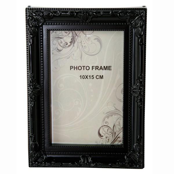 Fotorahmen im Retro-Look, schwarz 19,5 cm