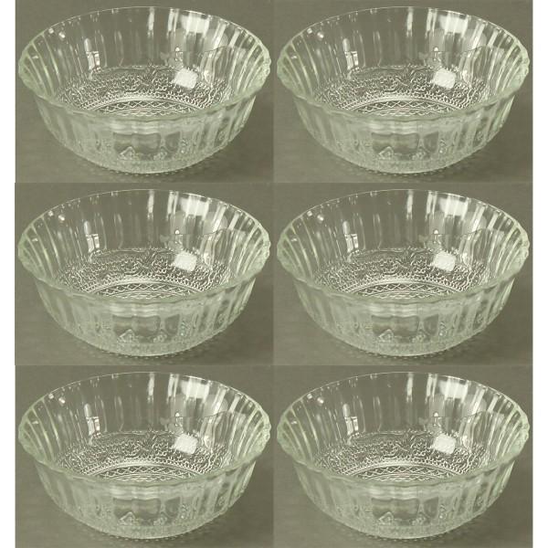Glasschalen 6-tlg. Set Ø 13,3 cm