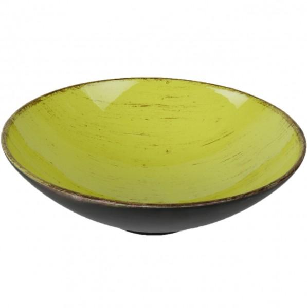 Dekoschale aus Kunststoff, lemon Ø 17 cm