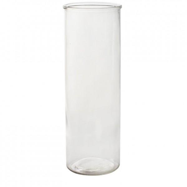 """6 x Zylinder """"Urban Living"""" aus Glas - Vase - H 15 cm bis H 30 cm"""