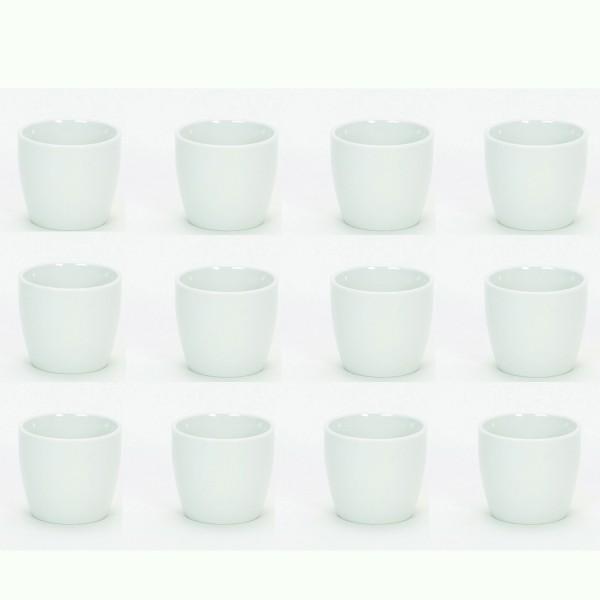 Keramiktopf mini 12 Stück - H 6,5 cm