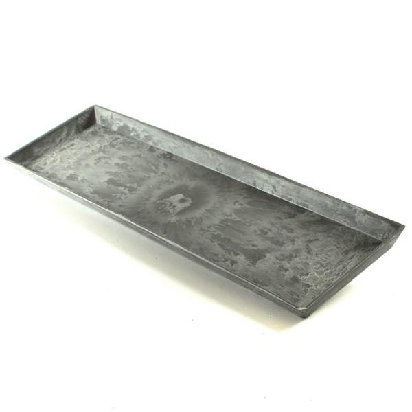 Dekoschale in Schiefer-Optik L 44 cm