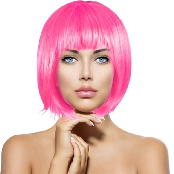 """Perücke """"Bob"""" pink"""