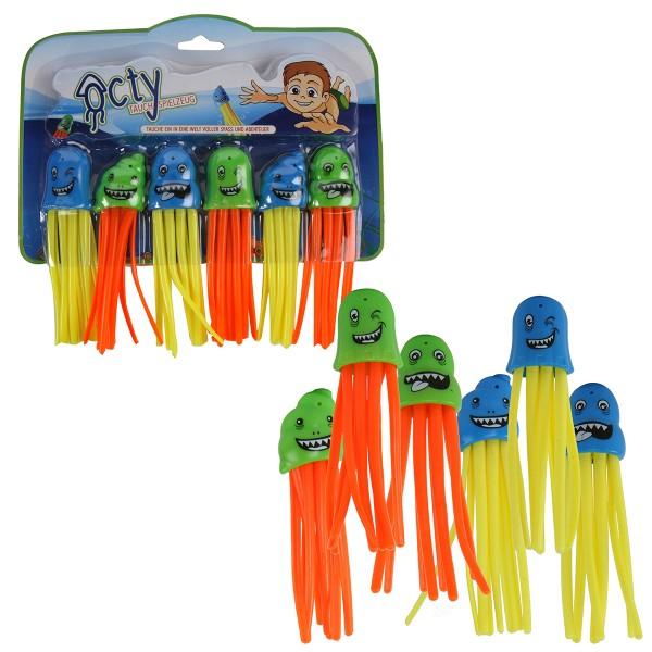"""Tauch-Spielzeug """"Okty"""" 6-tlg. Set"""