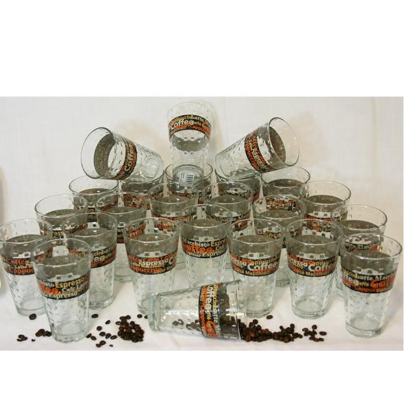 24 Stück Latte Macchiato Gläser