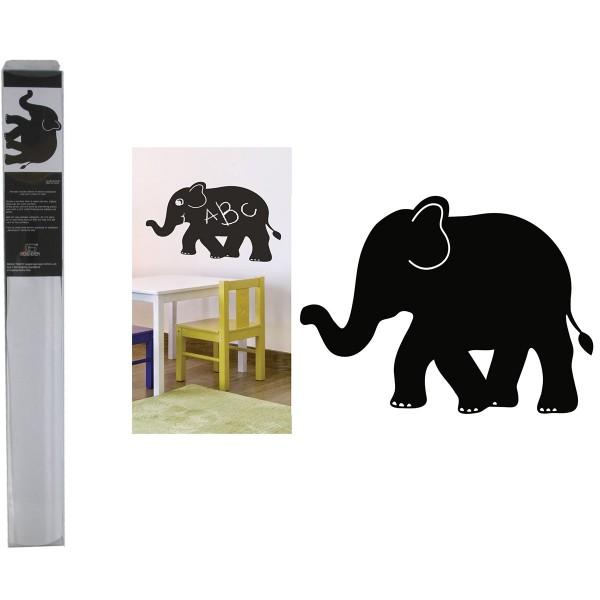 """Maltafel - Kreidefolie """"Elefant"""" zum Beschriften inkl. Kreide"""