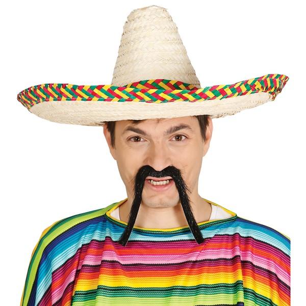 "Mexikanischer ""Sombrero"" aus Stroh Ø 50 cm"