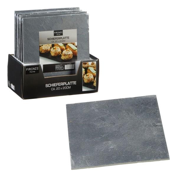 6 x Schieferplatten in verschiedenen Längen und Formen