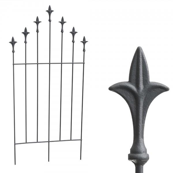 Rankgitter Lilie aus Eisen pulverbeschichtet H 116 cm - B 41 - 57 cm