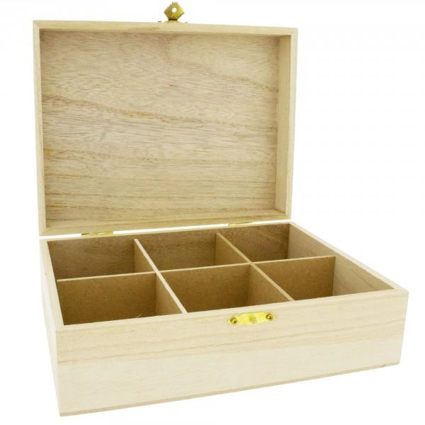 Teebox naturbelassen in verschiedenen Größen
