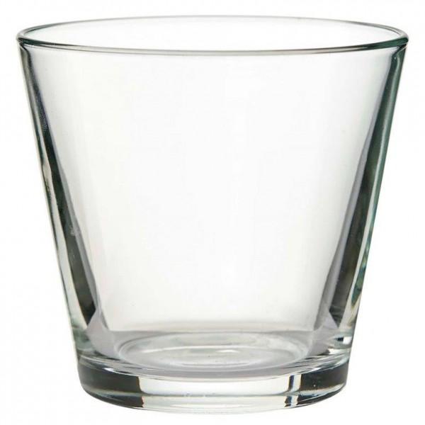 Windlichter - Glasschalen 12-tlg. Set H 8 cm